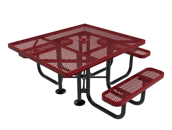 ADA Universal Access RHINO Square Picnic Table