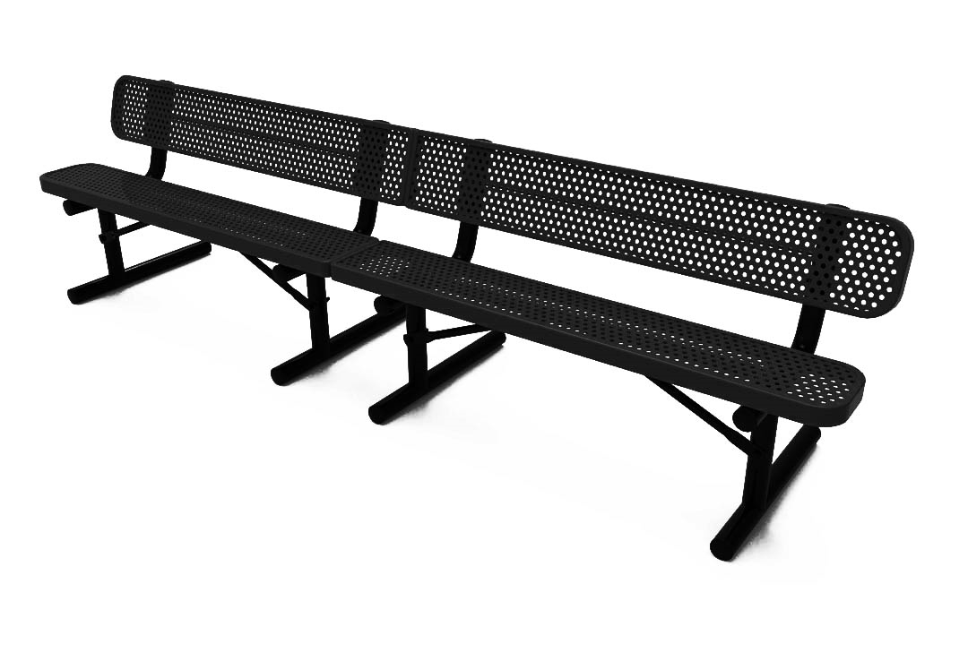 depot metal bay hampton isabella red p bench home the benches outdoor