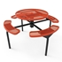 Elite Series Nexus Round Picnic Tables Inground Mounted