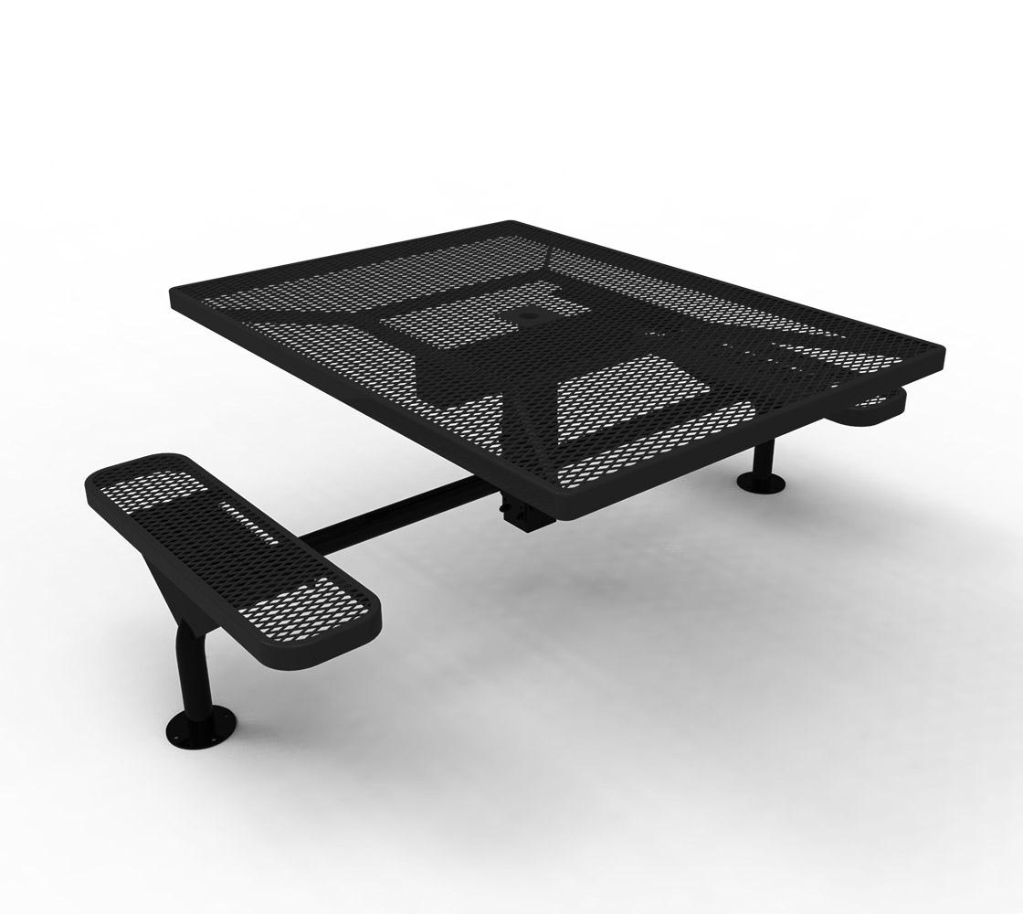 Elite Series Ada Nexus 46 Quot Square Thermoplastic Steel