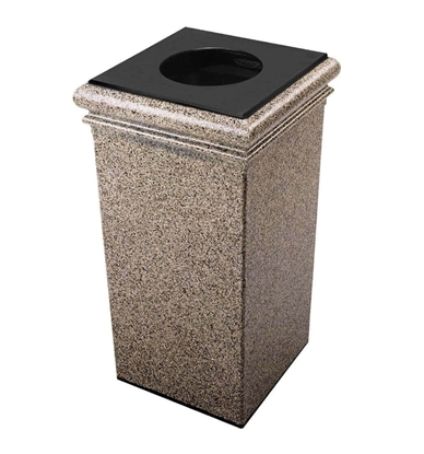 30 Gal Fiberglass Trash Can