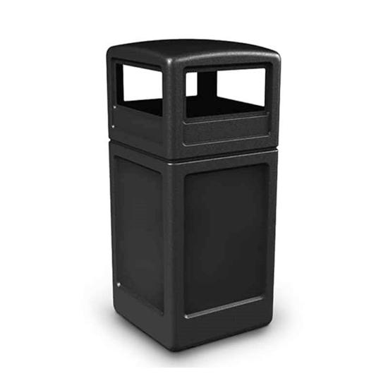 42 Gallon Trash Receptacle - Dome Top