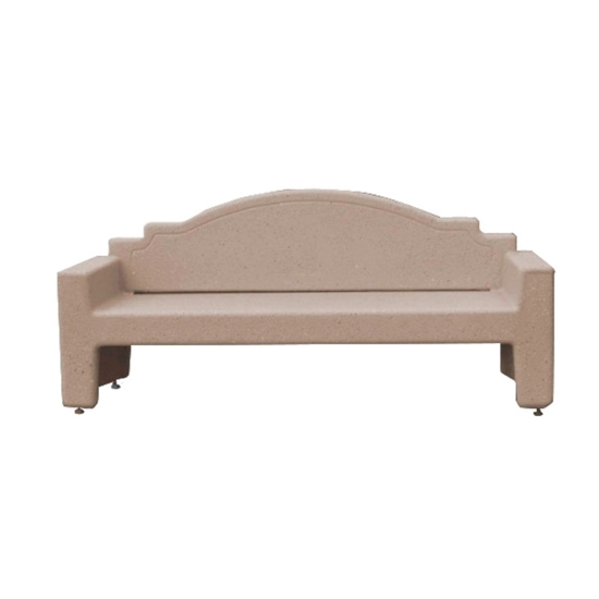 Surprising 7 Ft Concrete Custom Memorial Bench Ibusinesslaw Wood Chair Design Ideas Ibusinesslaworg