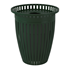 32 Gallon Crown Trash Can with Flared Top
