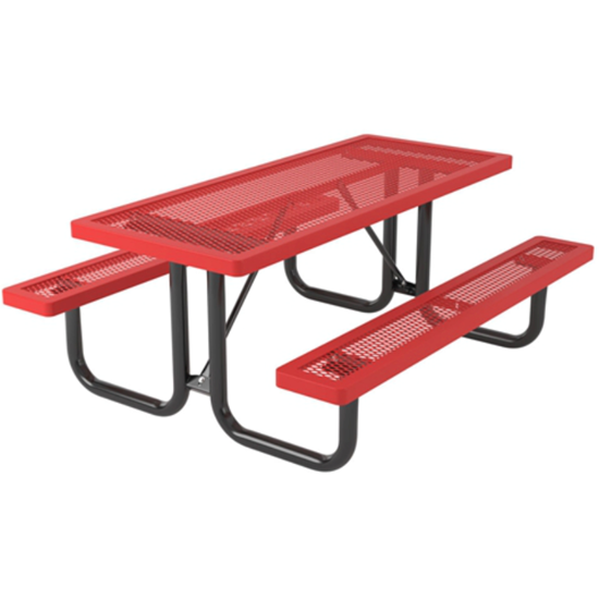 6 ft Rectangular Picnic Table