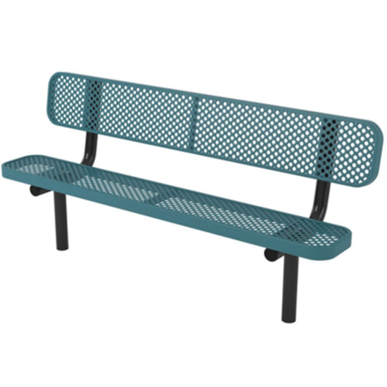 6 ft. Bench with Back