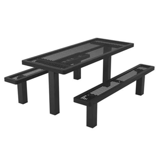6 ft. Rectangular Thermoplastic Picnic Table - Regal Style