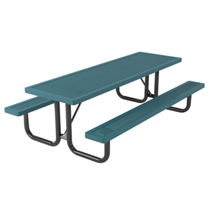 8 Ft. Rectangular Thermoplastic Steel Picnic Table