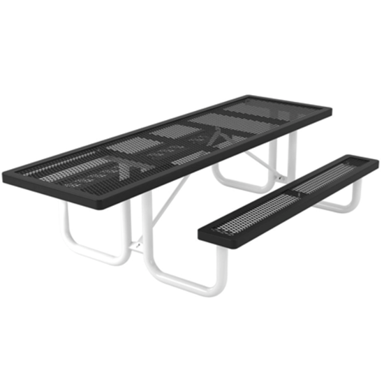 ADA Wheelchair Accessible Picnic Table - Thermoplastic Coated