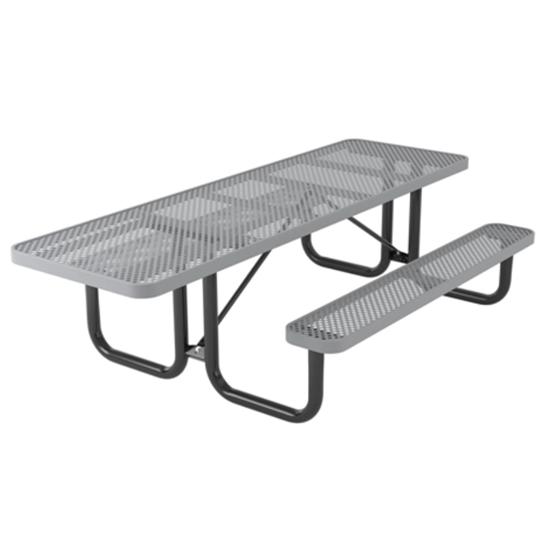 ADA Wheelchair Accessible Rectangular Picnic Table