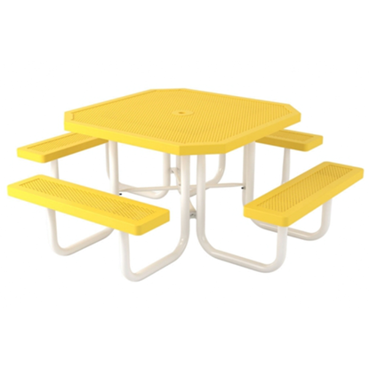 Octagonal Picnic Table - Thermoplastic Steel