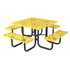 Square Picnic Table - Thermoplastic Metal
