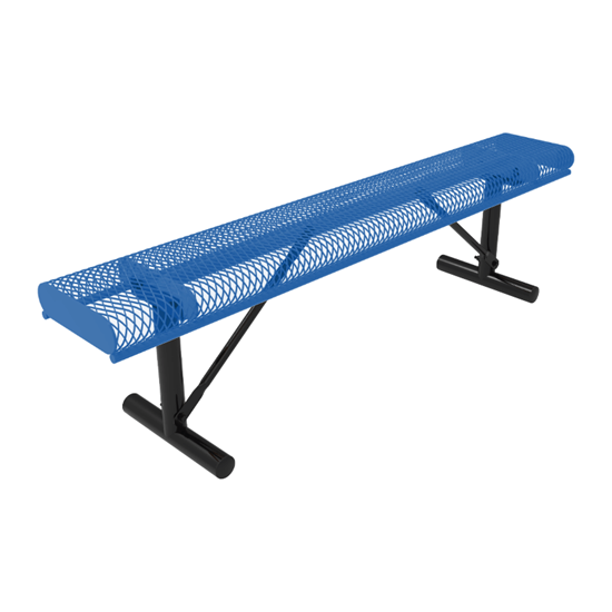 ELITE Series 4 Ft. Rolled Edges Bench without Back