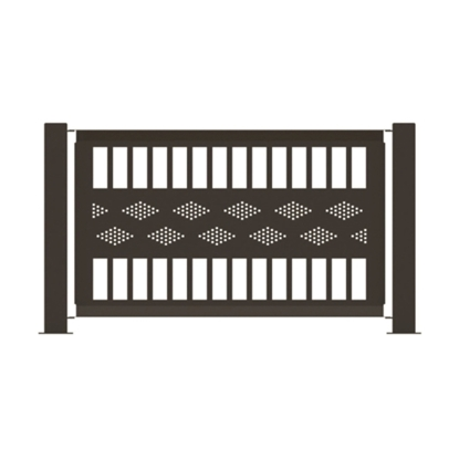"Fencing Panel 55"" x 32"" Powder-Coated Steel - 45 lbs."