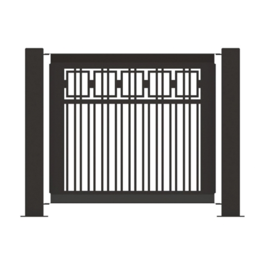"Fencing Panel 25.5"" x 32"" Powder-Coated Steel - 22 lbs."