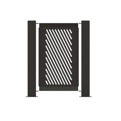 "Fencing Panel 14.5"" x 32"" Powder-Coated Steel - 15 lbs."