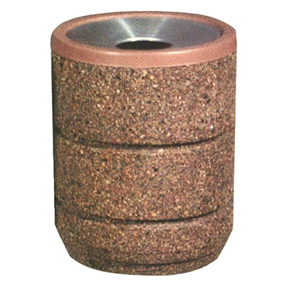 30 Gallon Trash Can - Aluminum Pitch-in Top and Liner