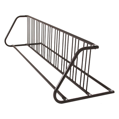 18 Space Grid Bike Rack, Galvanized Or Powder Coated Steel - Quick Ship