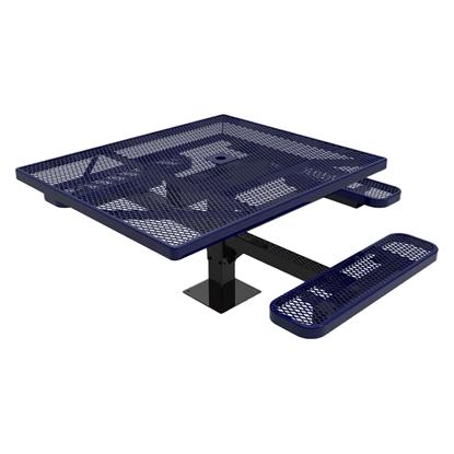ELITE Series Pedestal Picnic Table Thermoplastic