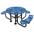 ELITE Series Wheelchair Accessible Round Picnic Table for Universal Access