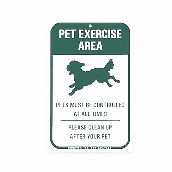 Dogipot Accessories - Reflective Off Leash Pet Sign