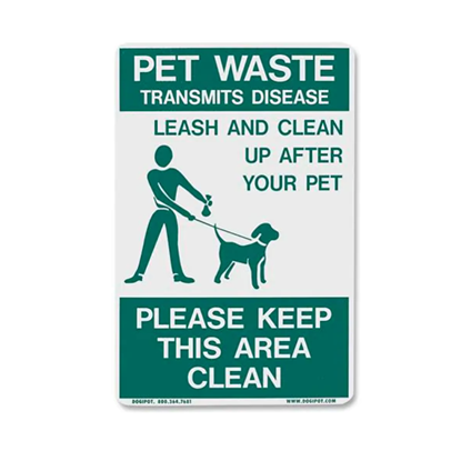 Dogipot Accessories - Reflective On Leash Pet Sign
