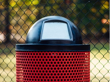 Different Commercial Trash Receptacles Lids and their Uses