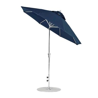 7.5 ft. Octagonal Auto Tilt Crank Market Umbrella