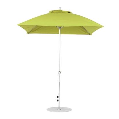 7.5 ft. Square Crank Lift Market Umbrella