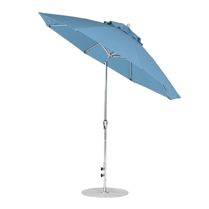 9 ft. Octagonal Auto Tilt Crank Market Umbrella