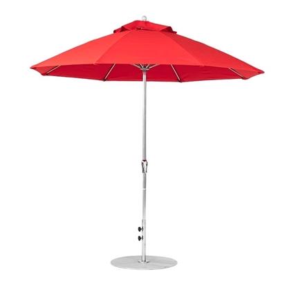 9 ft. Octagonal Crank Lift Market Umbrella