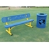 6 Ft. Dog Park Bench - Scene