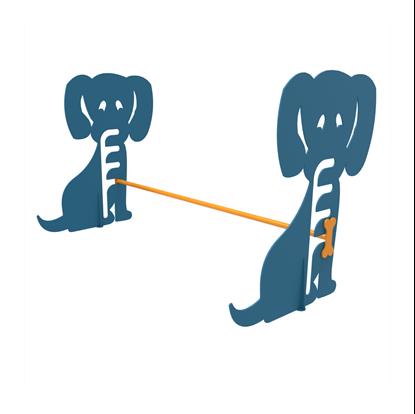 Dog Park Galvanized Steel Hurdle