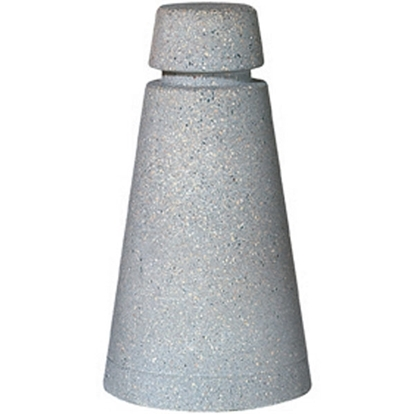 "Cone Shaped Concrete Bollard 34"" High"