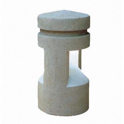 St. Pete Lighted Concrete Bollard - Surface