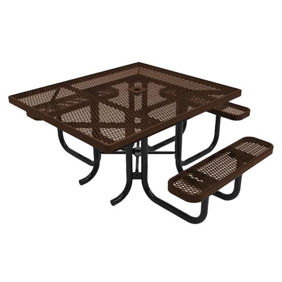 ADA Universal Access RHINO Square Picnic Table