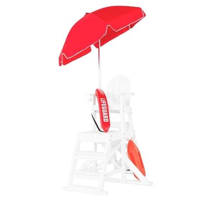 6.5 ft. Lifeguard Umbrella -Tilt Aluminum Pole