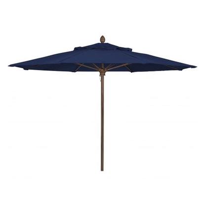 11 Ft. Octagonal Market Umbrella - Lucaya Style - Powder Coated Aluminum Pole - Marine Grade Fabric