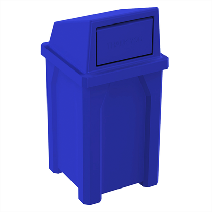 32 Gallon Trash Can with Liner