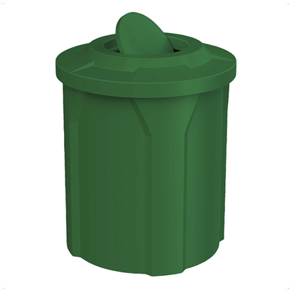 42 Gallon Trash Can with Bug Barrier Lid