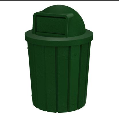 Signature 42 Gallon Trash Can - Dome Top